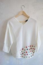 cute Mimi -Two strawbery batwing top blouse gyaru vivi M