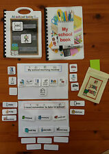 SCHOOL PACK-bumper pack of PECS and visual resources autism/sen/aspergers