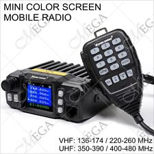 KT-8900D 136-174/220-260/350-390/400-480MHz Mini Color Screen Car Mobile Radio