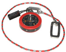 BARAKA OROLOGIO DA TASCA ROSSO ACCIAIO POCKET WATCH RED STAINLESS STEEL NUOVO
