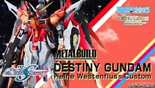 New Metal Build Destiny Gundam Heine Westenfluss Custom Bandai Tamashii Limited
