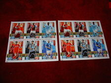 Topps Match Attax Premier League Football Trading Cards 2015/16 X2 Sheets