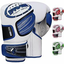 Farabi Beast Genuine Cowhide Leather MMA Training Sparring Boxing Punching Glove