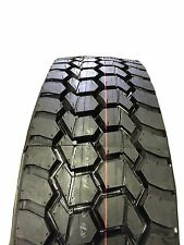 New Tire 245 70 19.5 Double Coin Traction 16 Ply RLB490 134J Semi Truck
