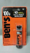 Ben's MAX 100 0.5oz Mini Spray Mosquito Tick Bugs Chiggers Insect Repellent DEET