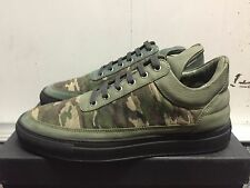FILLING PIECES LOW TOP QUILTED CAMO GREEN US SIZE 10