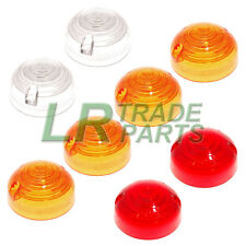 LAND ROVER SERIES 3 & DEFENDER 90 110 INDICATOR SIDE & TAIL LIGHT LAMP LENS KIT