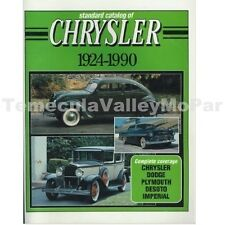 Standard Catalog of 1924-1990 Plymouth - Dodge - DeSoto - Chrysler - Imperial
