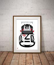 Porsche 911 GT3 (A3) Print by RacingLineDesigns [WEC / IMSA]