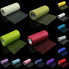 "5XGlitter Tulle Roll Tutu Wedding Party Fabric Bow Carft Spool 15 Colors 6""x25yd"