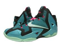 NEW NIKE LEBRON XI SOUTH BEACH SPORT BASKETBALL MIAMI HEAT JAMES KING CAVS 10