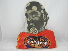 Survivor THAILAND ORANGE CHUAY GAHN BUFF Authentic Original Unpunched NWT 2002