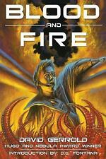 Blood and Fire by David Gerrold and D. C. Fontana (2003, Paperback)
