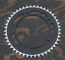 Black 46t 130mm BCD CHAINRING Fixie Track Bike BMX Bicycle Fixed Gear Sprocket