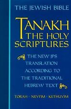 Tanakh: The Holy Scriptures, The New JPS Translation According to the -ExLibrary