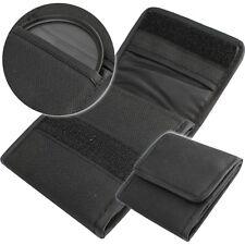 Filtertasche Schwarz Tasche Textil Green.L für 3x UV CPL Filter bis 67mm Gewinde