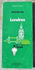 Guide Vert Michelin Londres, 4e édition, 1986, bon état, une déchirure