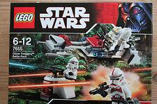 Lego Star Wars 7655 Clone Troopers Battle Pack - neu und ungeöffnet