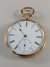 alte Taschenuhr - LANGE & SÖHNE - 1876-1884 - 750er Gold - sehr guter Zustand