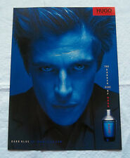 A388-Advertising Pubblicità-2000-DARK BLUE - UGO BOSS - PROFUMI