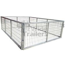 TRAILER CAGE 8x5 600MM 2FT HOT DIPPED GALVANISED