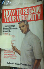 How to Regain your virginity (paperback) by Patricia Marx Store#527