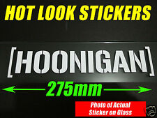 HOONIGAN KEN BLOCK STICKER Suit JDM EDM TURBO DRIFT DRAG RACING All Colours