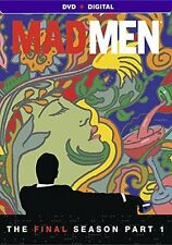 Mad Men Final Season P1 ~ Seventh Season Seven 7 Part 1 ~ NEW 3-DISC DVD SET