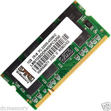 1GB 1X1GB DDR-400 PC3200 Non-ECC CL2.5 200-pin Laptop (SODIMM) Memory (RAM)