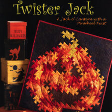 TWISTER JACK QUILT PATTERN Jack-O'-Lantern Pinwheel Twist NEED'L LOVE Halloween