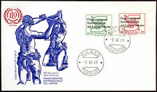 Italy 1969 Int Labour Org. FDC First Day Cover #C22135