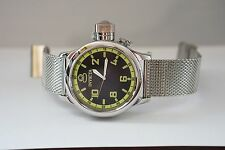 Invicta 1433 Men's Russian Diver Watch with a 26MM Stainless Steel Mesh Bracelet