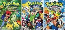 DVD Pokemon Johto Season 3 + 4 + Master Quest Season 5