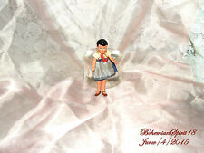 ANTIQUE SIGNED GERMANY COUNTRY GIRL DOUBLE JOINTED MINIATURE 3'' DOLL