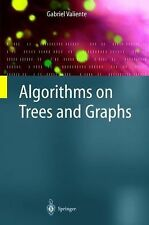 Algorithms on Trees and Graphs by Gabriel Valiente (2002, Hardcover)