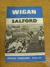 03/05/1969 Rugby League Programme: Wigan v Salford [Championship Play-Off] . Con