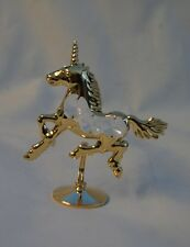 Crystal Temptations Gold Plated & Swarovski Unicorn Bnew Gift