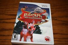 Nintendo Wii Rudolph the Red-Nosed Reindeer (Nintendo Wii, 2010) NEW