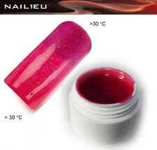 Gel termico 21 Red - redviolet metallico 5ml/ Unghie Colorgel Thermo di colore