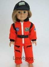 "NASA Astronaut + Hat Costume Clothes for 18"" American Girl Doll Found It!"