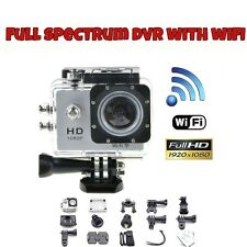 INFRARED FULL SPECTRUM WIFI DVR Action Cam Ghost Hunting Camera !!!NEW!!!
