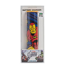 POWER BANK iron man 2600mAh MARVEL