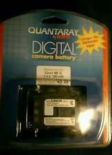 New! In package! Quantaray by Sunpack fits Canon NB-2L  7.4 v 700mAh battery