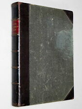 DAVID COPPERFIELD - Charles Dickens c1875 Illustrated by J BARNARD leather bound