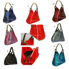 New Chinese Vintage Silk Embroider sequins Triangle Handbag Purse Wallet