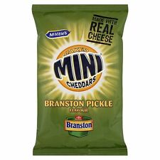 McVities Branston Pickle Mini saladas 50g Completo Funda 30 Packs-más barato
