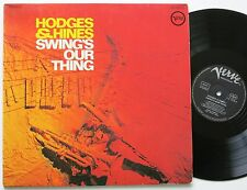 JOHNNY HODGES & HINES SWING´S OUR THING ORIG VERVE LP 1968 VG++
