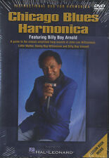 Chicago Blues Harmonica Billy Boy Arnold matriculación aprender a jugar Dvd