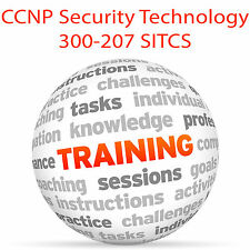 Cisco CCNP Security Technology 300-207 SITCS - Video Training Tutorial DVD