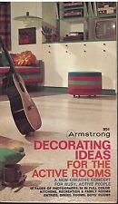 DECORATING IDEAS FOR THE ACTIVE ROOMS pb 167 PGS ILLUSTRATED.